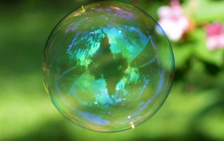 soap bubble simulation