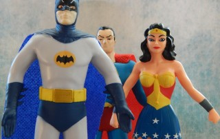 Superheroes - a force for good